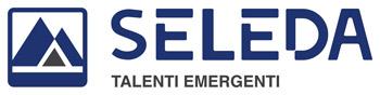 Replica del logo di Seleda nell'area footer del sito web